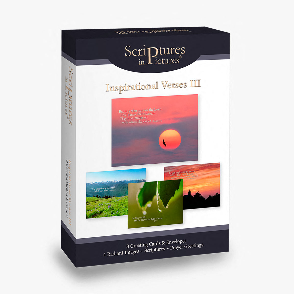 Scriptures in Pictures Inspirational Verses III Greeting Cards