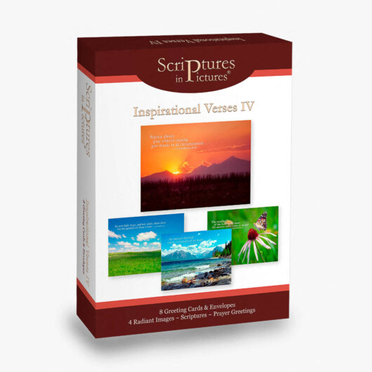 Scriptures in Pictures Inspirational Verses IV Greeting Cards