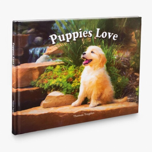 Puppies Love Book Cover Featured Image