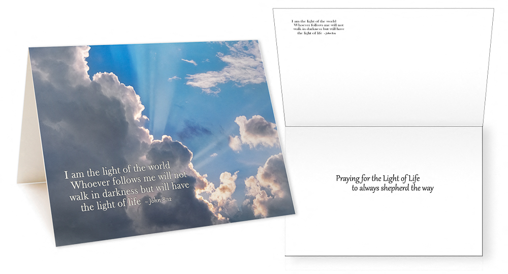 Scriptures in Pictures Verses I Greeting Card