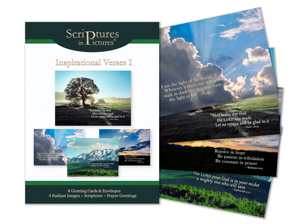 Scriptures in Pictures Verses I Greeting Cards