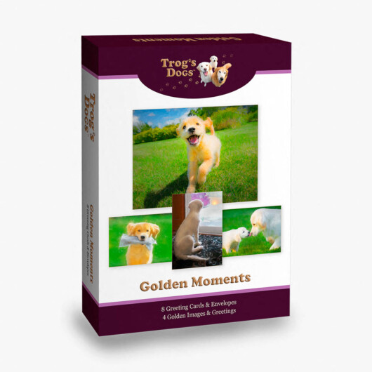 Trog's Dogs Golden Moments Greeting Cards