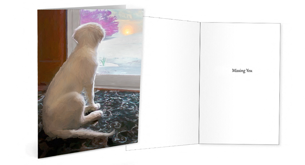 Trog's Dogs Golden Moments Greeting Card