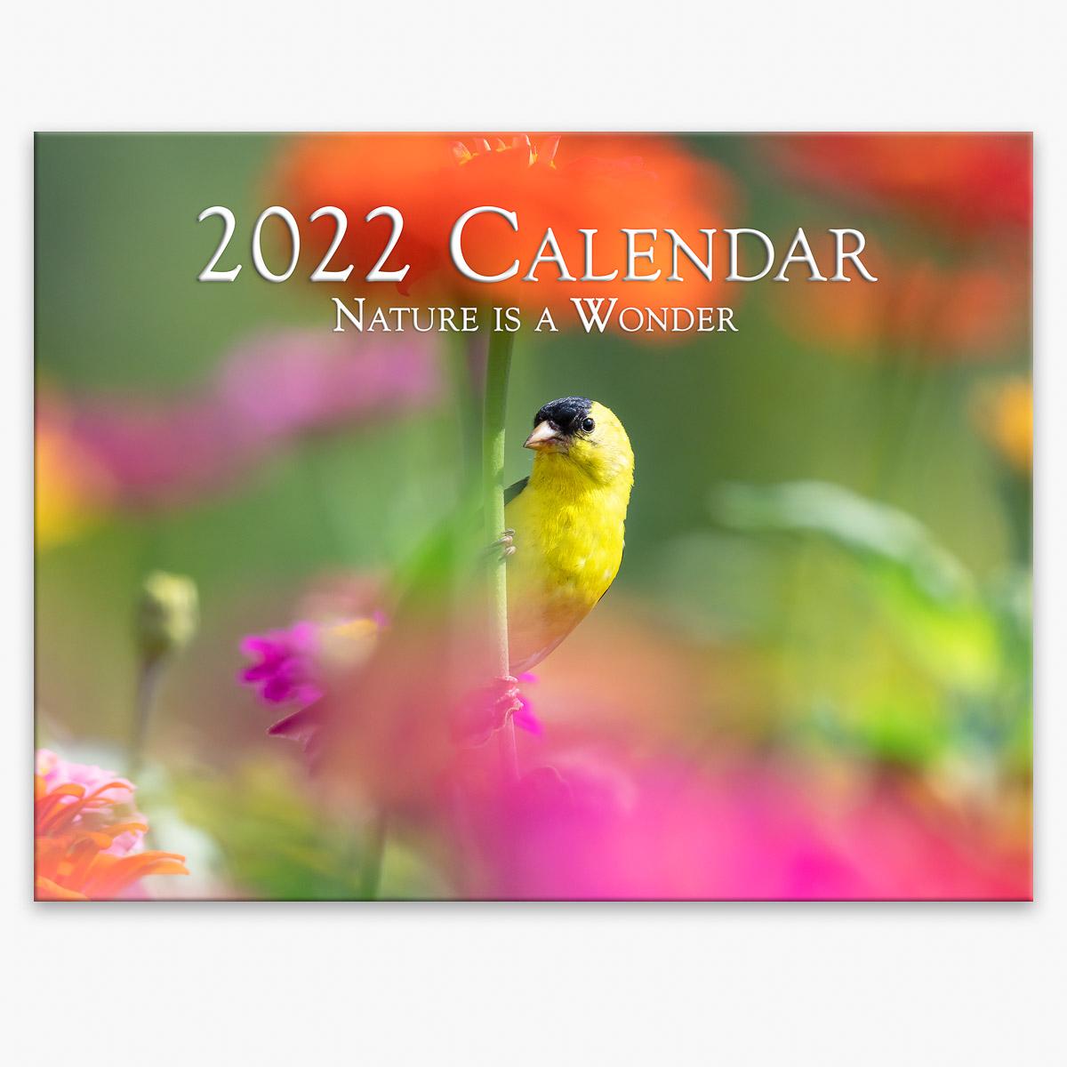 Trogography - Nature is a Wonder 2022 Wall Calendar
