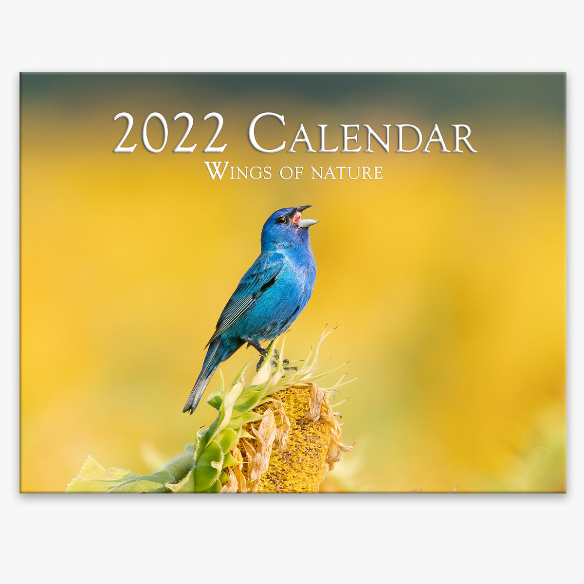 Trogography - Wings of Nature 2022 Wall Calendar